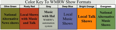 wmrw schedule ColorKeyToSchedule72x72